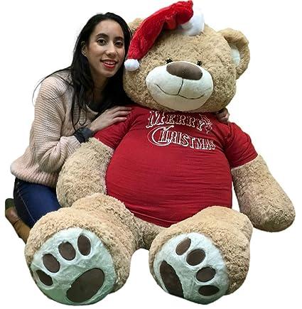 e9b78edbdf502 Amazon.com  Big Plush 5 Foot Giant Xmas Teddy Bear Soft 60 Inch ...