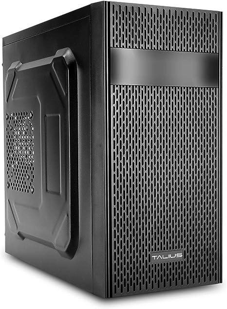 Talius Caja Micro-ATX T-201 USB 3.0 Negra: Amazon.es: Informática