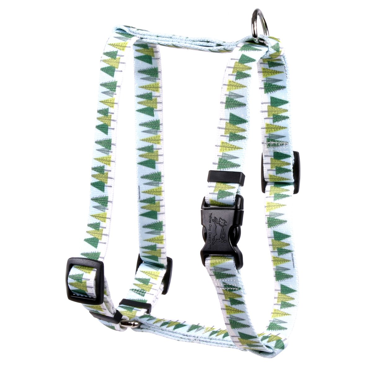 Yellow Dog Design Winter Trees Roman Style H Dog Harness-Small/Medium-3/4 and fits Chest 14 to 20'' by Yellow Dog Design