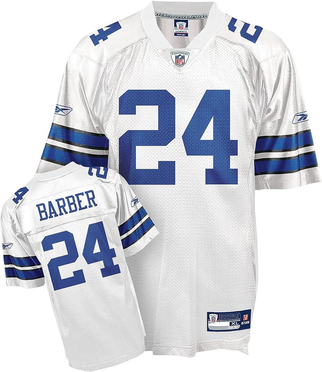 Amazon.com : Marion Barber #24 Dallas Cowboys White Adult Replica ...