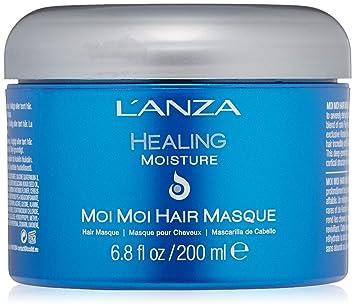 6519b5dc1 Moisture Moi Moi Hair Masque 200 ml, LŽAnza, Azul: Amazon.com.br: Beleza