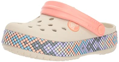 627b569bd Crocs Baby Girls   Crocband Gallery Clog K  Amazon.co.uk  Shoes   Bags