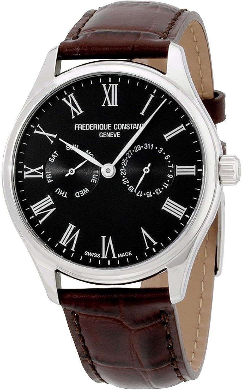 Frederique Constant Classics Quartz Movement Black Dial Men s Watch FC-259BR5B6-DBR