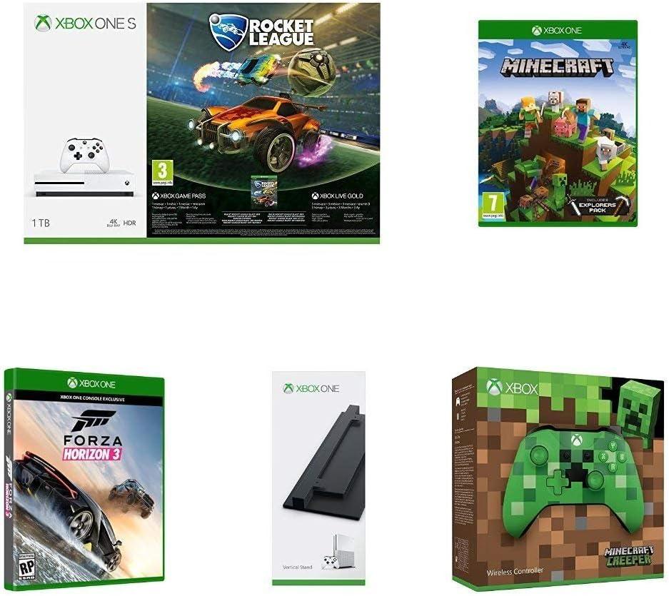 Pack Rocket League + Minecraft Explorer + Mando + Soporte Vertical ...