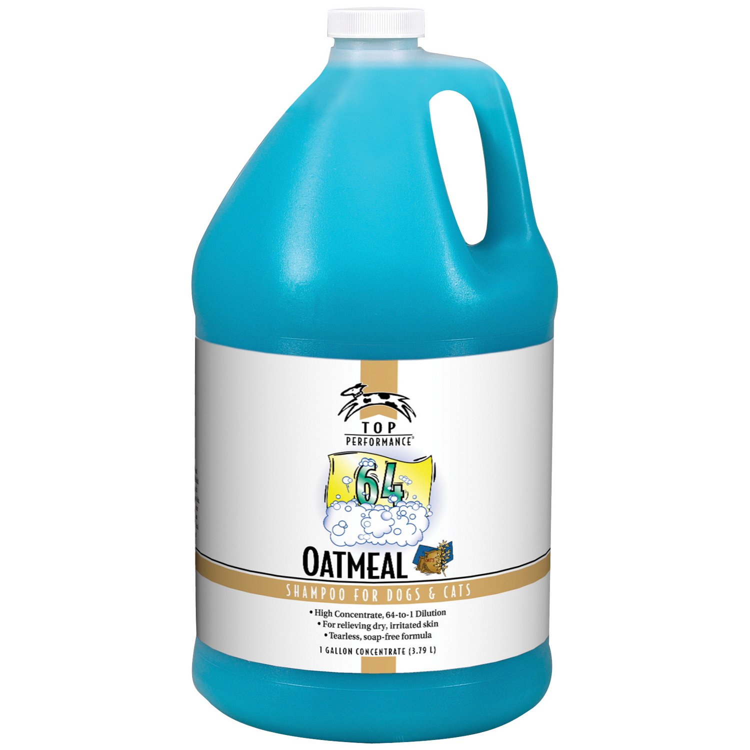 Top Performance TP 64 Pet Shampoo, Oatmeal by Top Performance