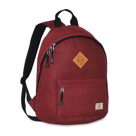 Amazon.com   Everest Vintage Backpack, Burgundy, One Size   Kids  Backpacks 4c1d730fd0