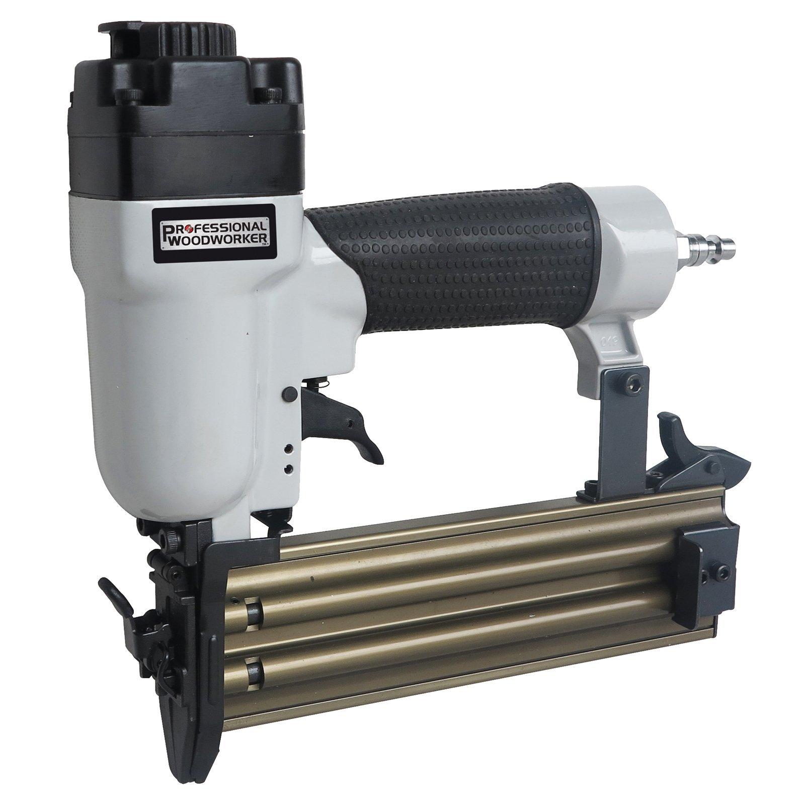 Clavadora Neumatica : Professional Woodworker 7555 18-Gauge.