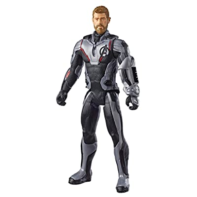 "Avengers Marvel Endgame Titan Hero Series Thor 12""-Scale Super Hero Action Figure Toy with Titan Hero Power Fx Port: Toys & Games"