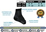 Compression Foot Sleeves (3 Pairs) - BEST Plantar