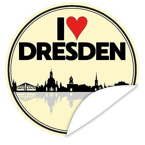 I love Dresden Aufkleber ❤   Individualisieren Sie Geschenke mit