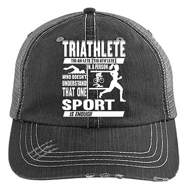 4e266337a The Triathlete Sport Hat, One Sport Is Enough Trucker Cap (Trucker ...