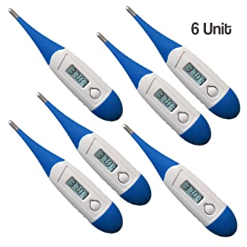 Digital Medical Thermometer Best FDA Quick 10 Second Reading for Oral, Rectal, Armpit Underarm