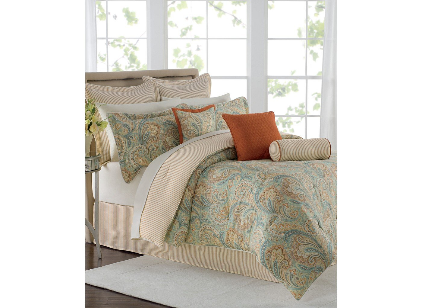 genghis star collection rust western decor bedding lone comforter set