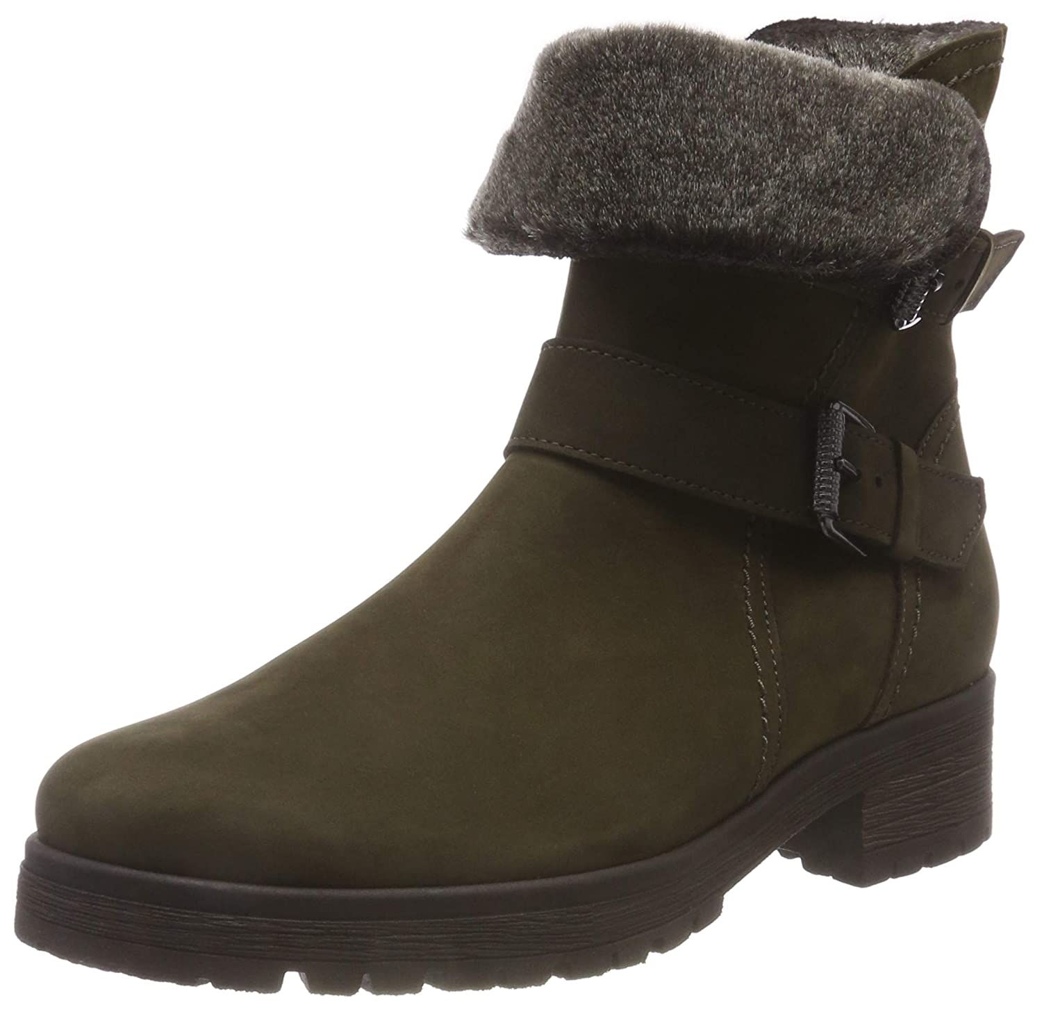 Gabor Ankle Boot Gabor (Mel.) Boot Shiraz 92.093 Vert (Military (Mel.) 33) 46081d7 - shopssong.space