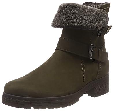 d5f79d3943944 Amazon.com | Gabor Shiraz Womens Buckle Detail Biker Boots | Boots