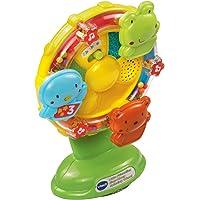 VTech Baby 165903 Little Friendlies Sing Along Spinning Wheel - Multi-Colour