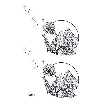 wyuen 5 hojas montaña temporal tatuaje adhesivos de los niños ...