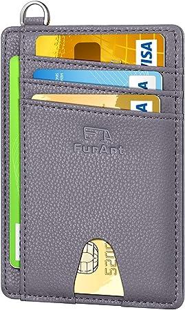 FurArt Slim Minimalist Wallet