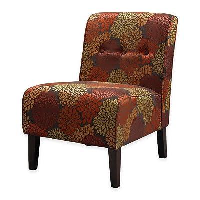 Linon Coco Accent Chair, Harvest