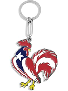 Amazon.com: flagsandsouvenirs Puerto Rico Flag Girl Keychain ...