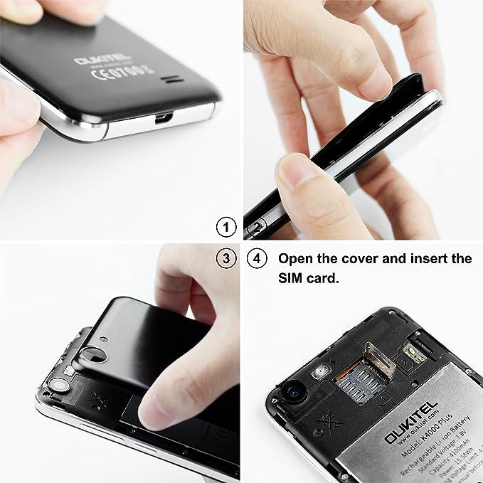 OUKITEL K4000 Plus - Smartphone Libre DE 5.0 Full HD 4G Dual SIM ...
