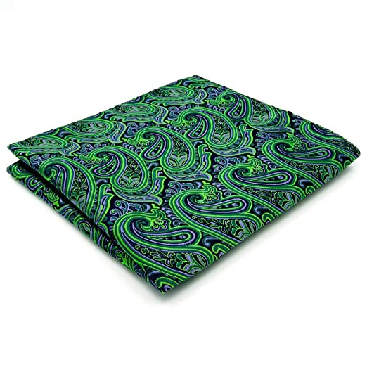 Shlax & Wing Men's Neckties Ties Paisley Green Purple Accessories For Men Long olwyRPrVAC