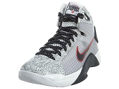 pretty nice 943ca 13e4d Nike Mens Hyperdunk OG, WHITE DARK OBSIDIAN-SPORT RED, 10 M US