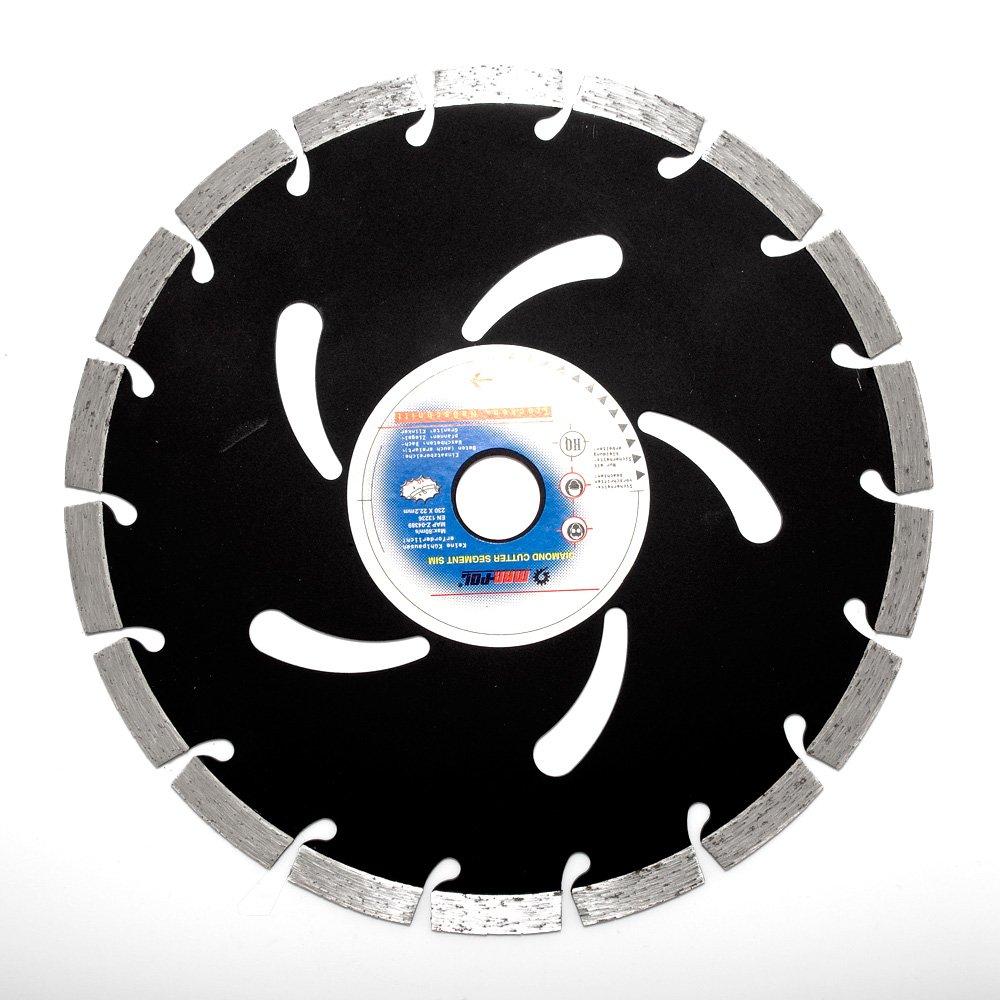Disque à tronçonner diamant à tronçonner pour meuleuse d'angle ø 400mm, 32mm béton Turbo 32mm béton Turbo MARPOL