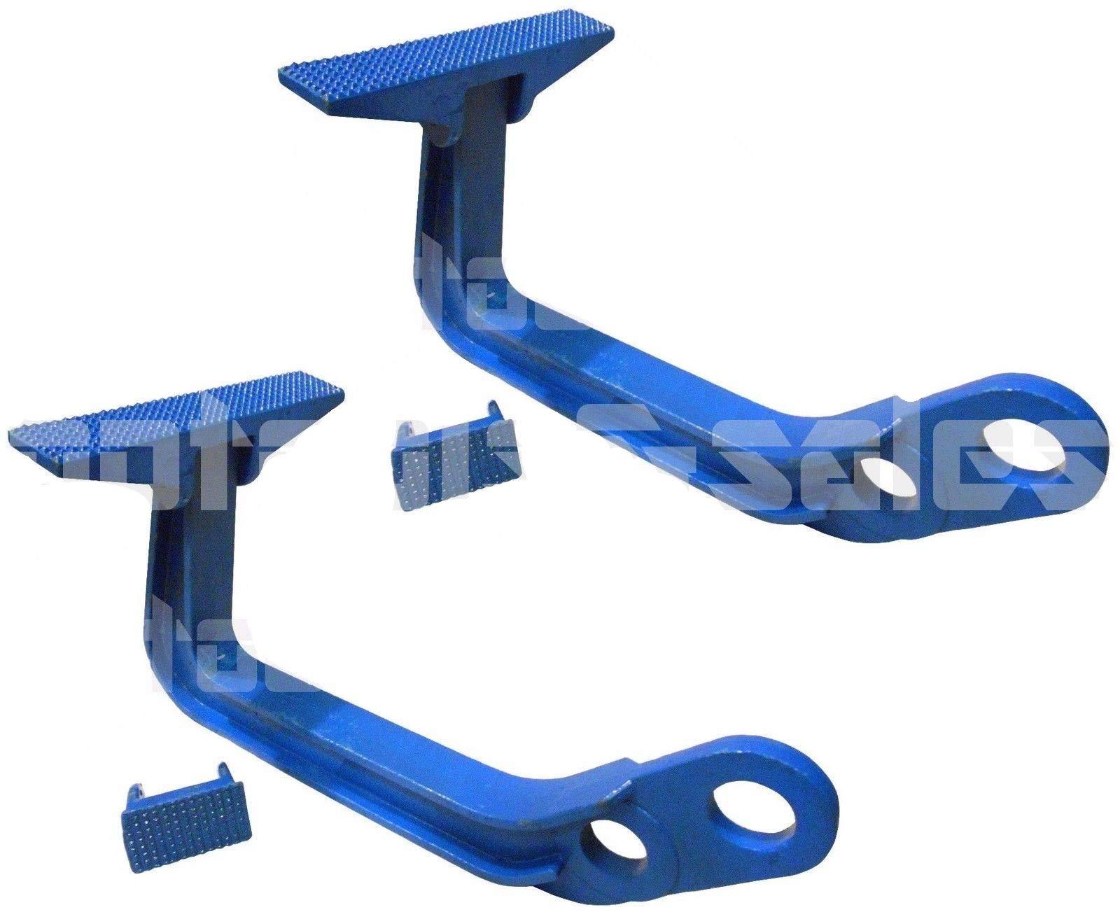 (2) 6 TON Deep Hook Auto Body Frame Jumbo Hook Pulling Clamp Fast Deep Hook Up