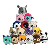 Squeezamals BH31511.4300 Slow Rising Soft Toy, Squishie and Scented Plush Animals, Multi-Colour