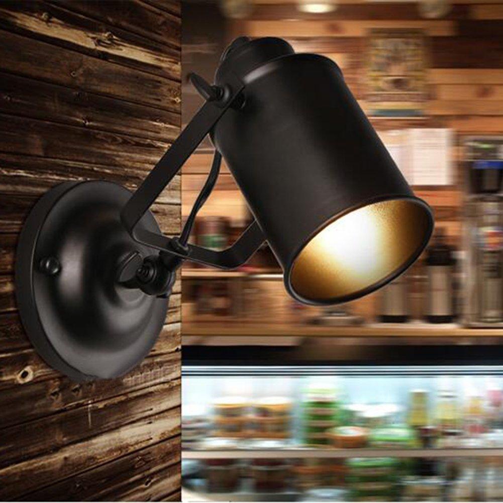 Lámparas de Pared de Metal Retro Industriales Lámpara de Iluminación de Pasillo Lámpara de Pared de Techo [Clase de Energía A+] [Clase de eficiencia energética A+] ruist-eu