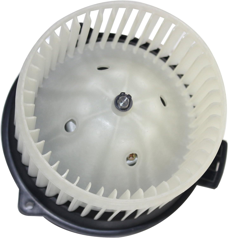 SCITOO ABS Plastic Heater Blower Motor w//Fan HVAC A//C Resistors Blowers Motors fit for 2001-2009 Dodge Durango //1999-2004 Honda Odyssey Rear