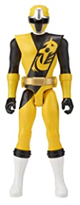 Power Rangers Super Ninja Steel 12-inch Action Figure, Yellow Ranger