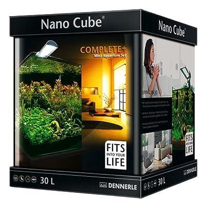 Nano Cube Set Completo de acuario 30 L Plantas de peces tropicales