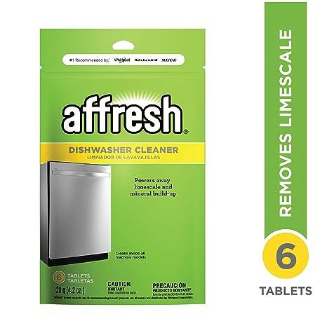 Amazon.com: Limpiador de lavavajillas de Affresh, W10282479 ...