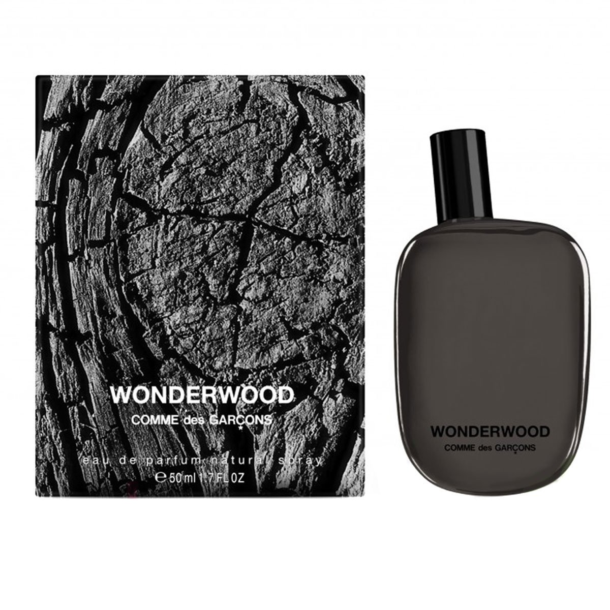 Comme Des Garcons Wonderwood Eau De Parfum Spray For Men, 1.7 Ounces 99 Perfumes (EPI Enterprises LLC) - DROPSHIP 8411061707814