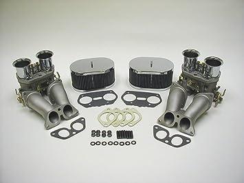 Genuine WEBER Dual 40 IDF Carburetor Conversion Kit With Velocity