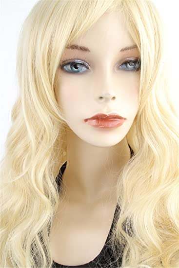 Cool2day Cosplay Wig Party Women Sexy Long Curly Costume Synthetic Hair Ladies Blonde Wigs Female Peruca