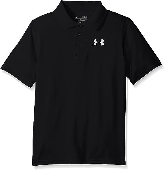 Under Armour Youth Boys UA Polo Shirt Anti Odor Athletic Top