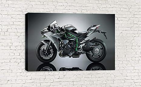 Dynamo Printing Ltd 2017 Kawasaki Ninja H2 Super Bike Lienzo ...