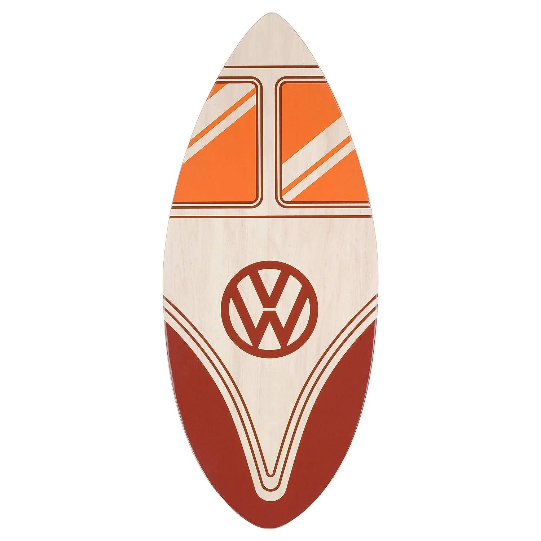 Tabla de Madera para deslizarse por la Orilla Skimmer 104 cm 4 dise/ños Adultos y ni/ños VW Skimboard de Volkswagen