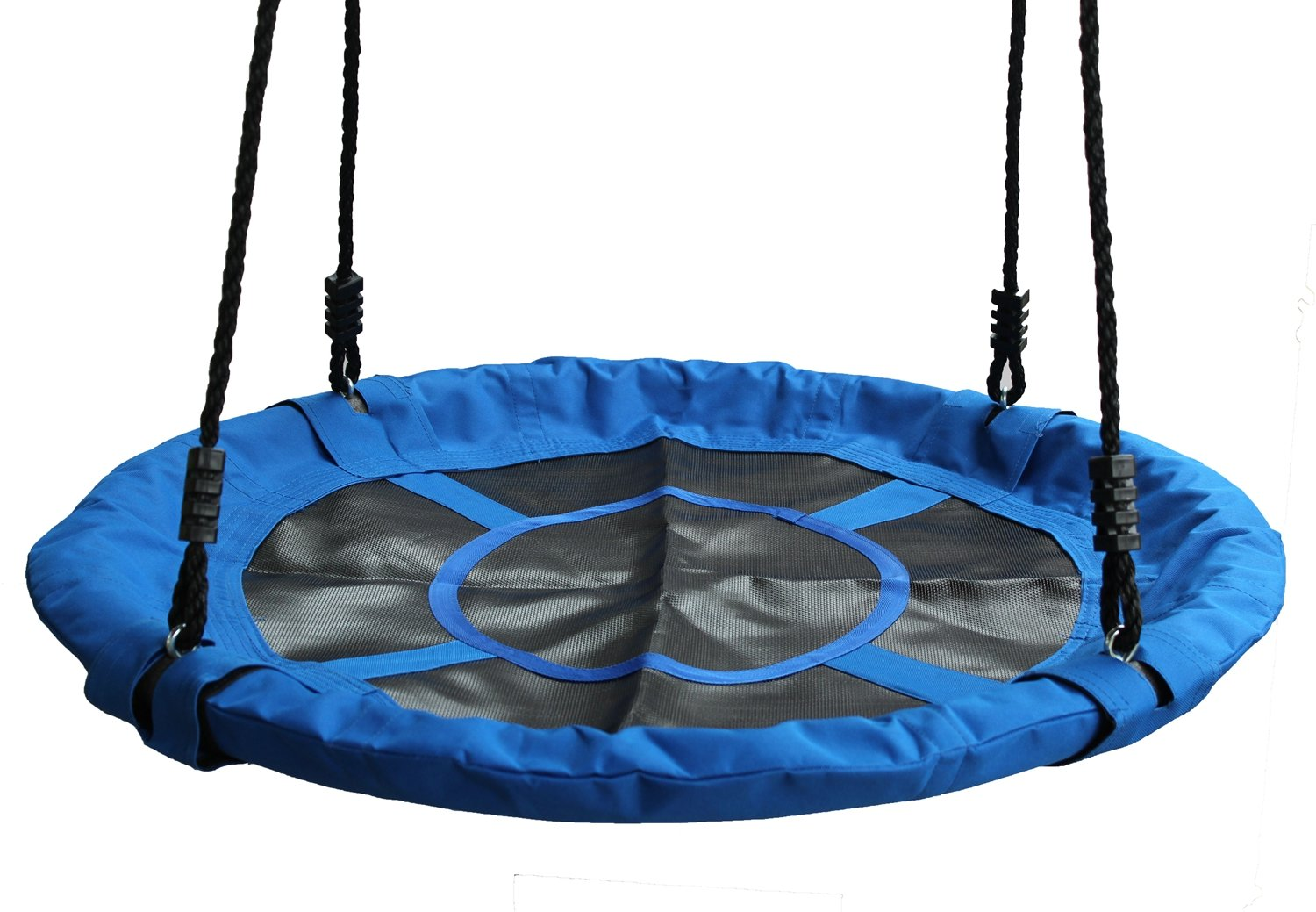 Movement God Saucer Tree Swing for Kids & Adults - Outdoor Large Size 40 Diameter Durable Swing-Easy Installation (Green)