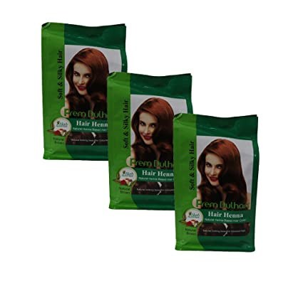 Buy Dhiya Home Fashion Prem Dulhan Hair Henna Based Hair Color Brown