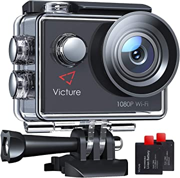 Victure Ac420 Action Cam 14mp Wi Fi Full Hd 1080p Camera Photo