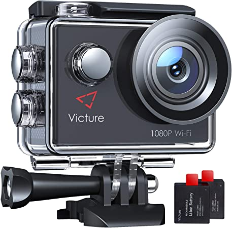 Victure Ac420 Action Cam 14mp Wi Fi Full Hd 1080p Kamera