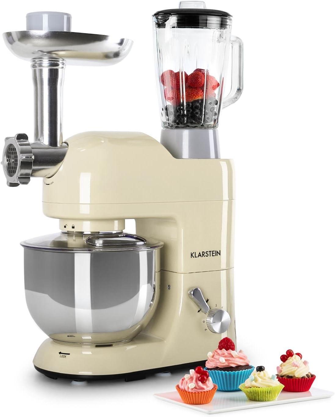 Klarstein Lucia Morena - Robot de cocina universal, Batidora ...