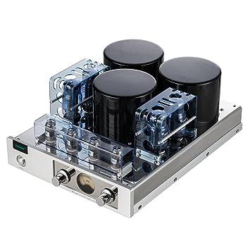 Gemtune MC-13S Push-Pull amplificador integrado estéreo del tubo (con cubierta protectora