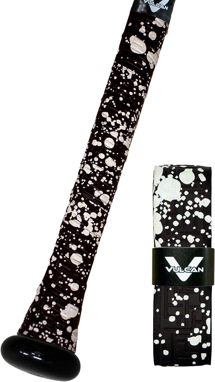 Vulcan 1.00mm Bat Grips//Black Splatter