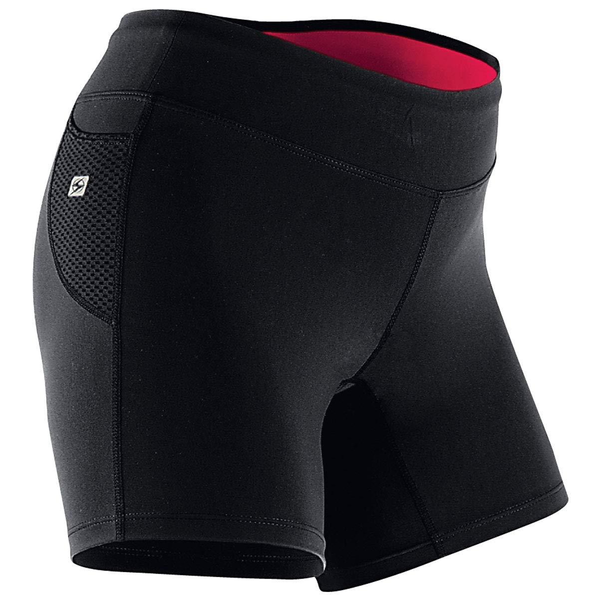Sugoi LUCKY FIT SHORT Damen | 16011FNCBK Multisport und Running Tight-Fit Short