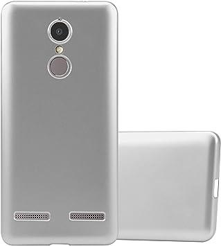 Cadorabo Funda para Lenovo K6 / K6 Power en Metallic Plateado: Amazon.es: Electrónica